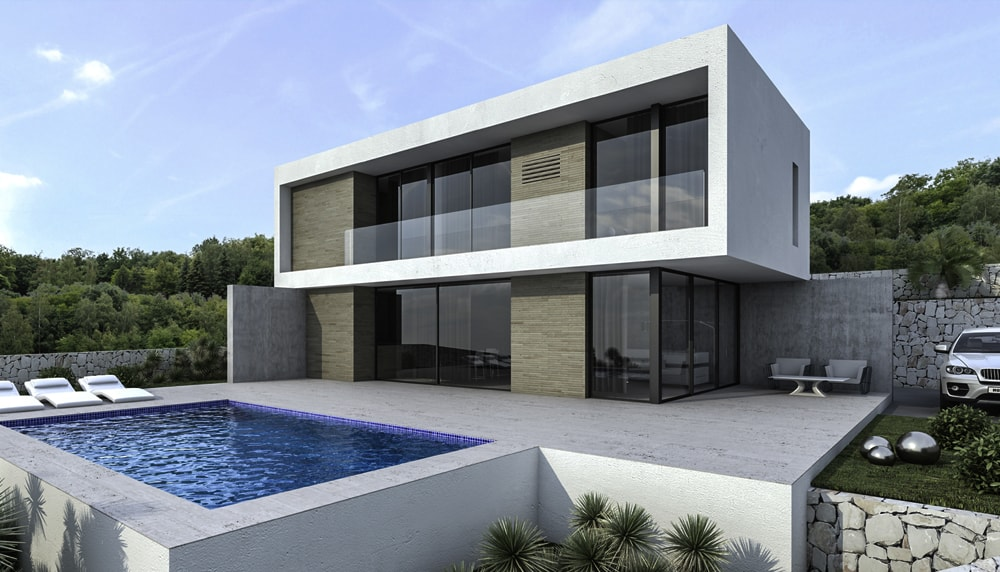 Arquifutura arquitectura integral arquitectos for Proyectos casas minimalistas